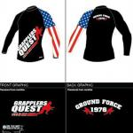 Grappling rEvolution Long Sleeve Rashguard by Grapplers Quest and OTM