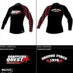 LOYALTY Long Sleeve Rashguard by OTM and Grapplers Quest - The Original Brands a