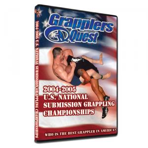 2004 Grapplers Quest U.S. Trials - 4 Hour Double Sided Disk