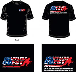 2015 Grapplers Quest U.S. Nationals T-Shirt